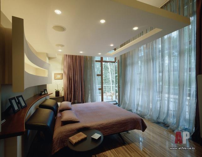 Интерьеры спален в современном стиле.