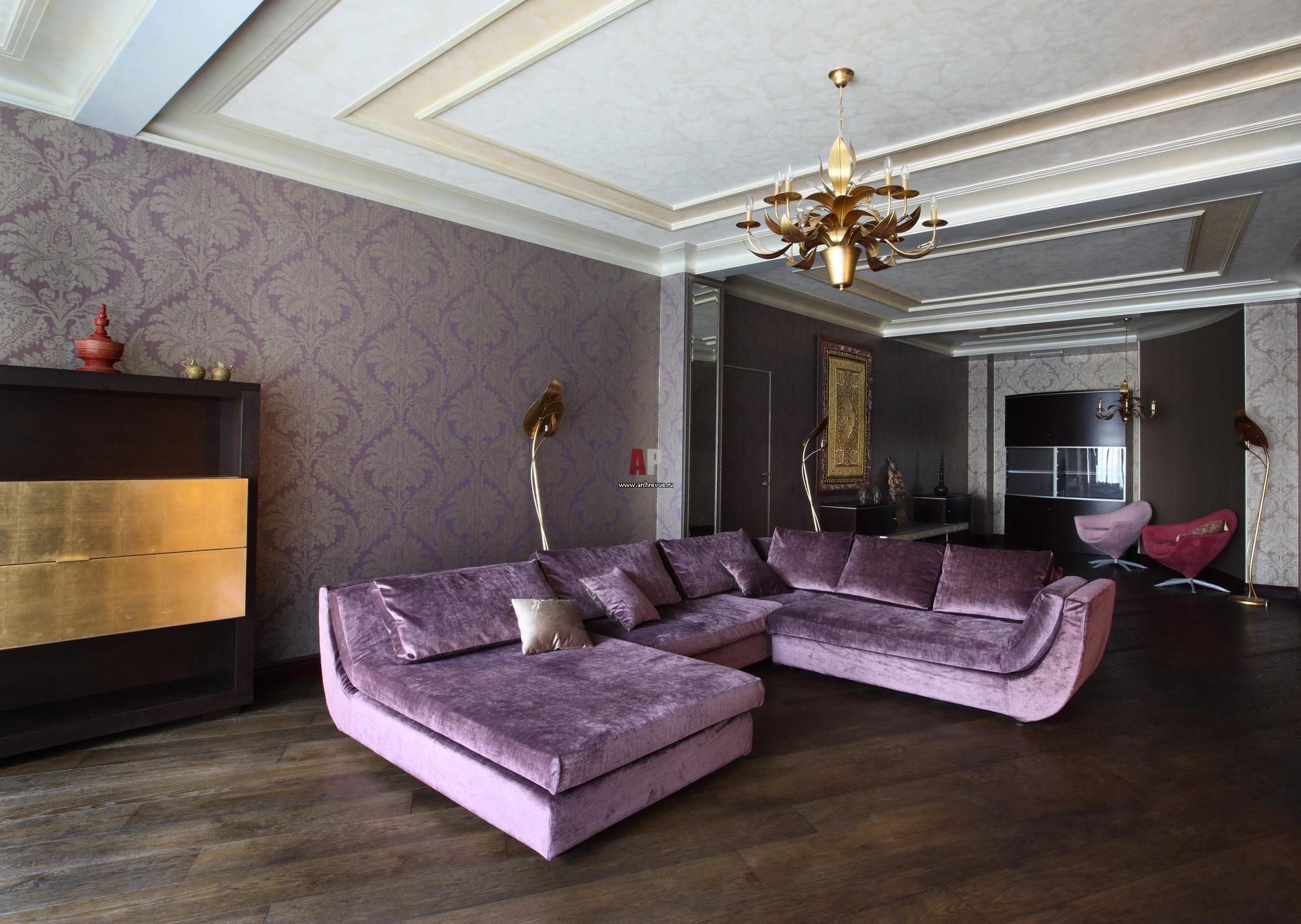 Спальня классическая интерьер