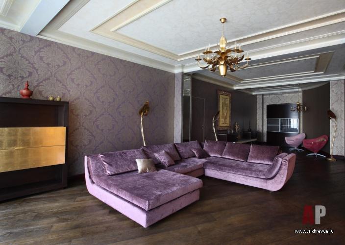 Сиреневые диваны в интерьере фото