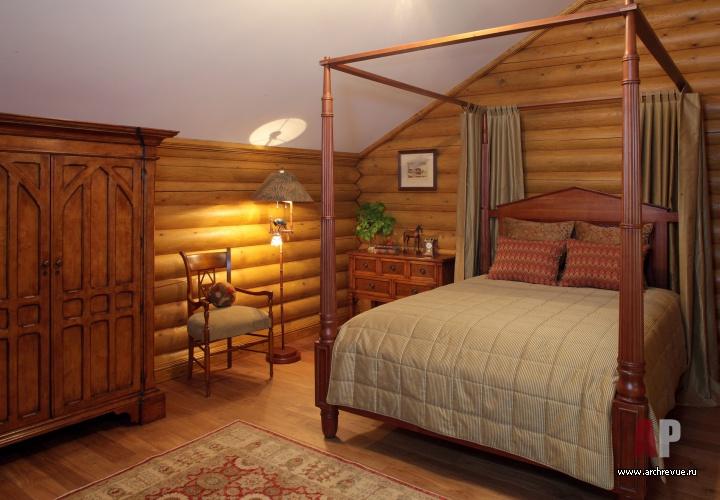 дизайн детской кровати домика