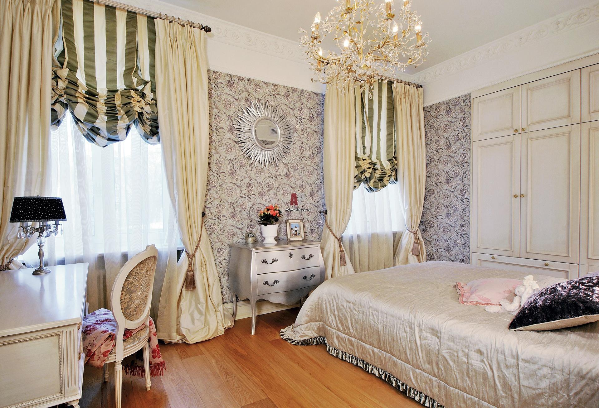 Интерьер спальни 9 м