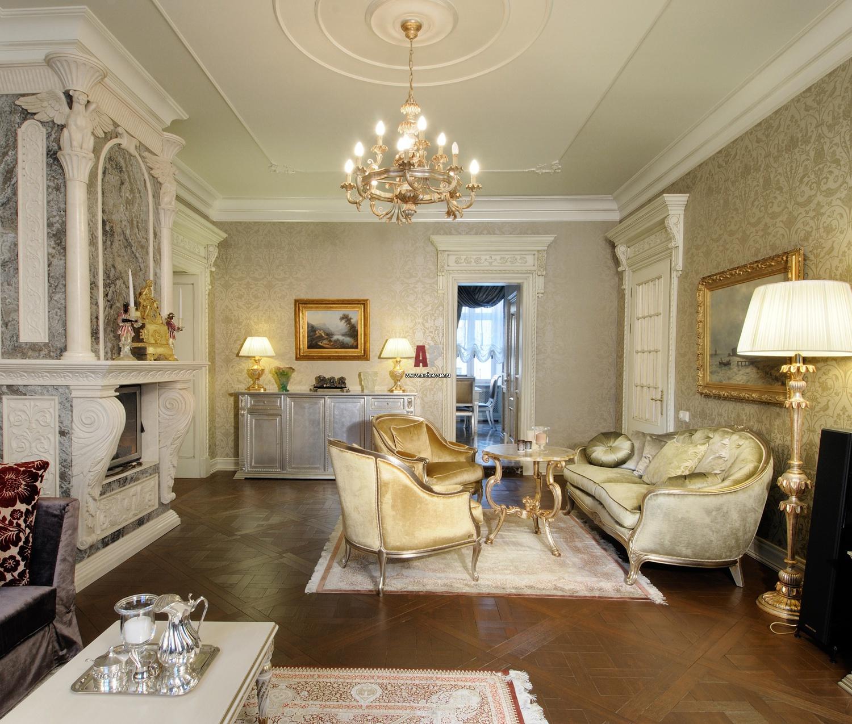 Интерьеры гостиных в классическом стиле фото