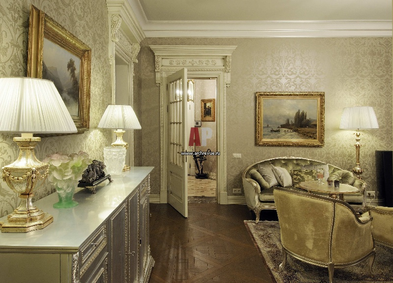 Классический стиль в интерьере малогабаритных квартир фото