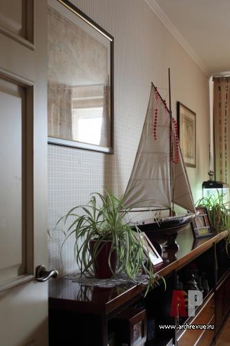 Интерьер квартиры в терракотовых тонах