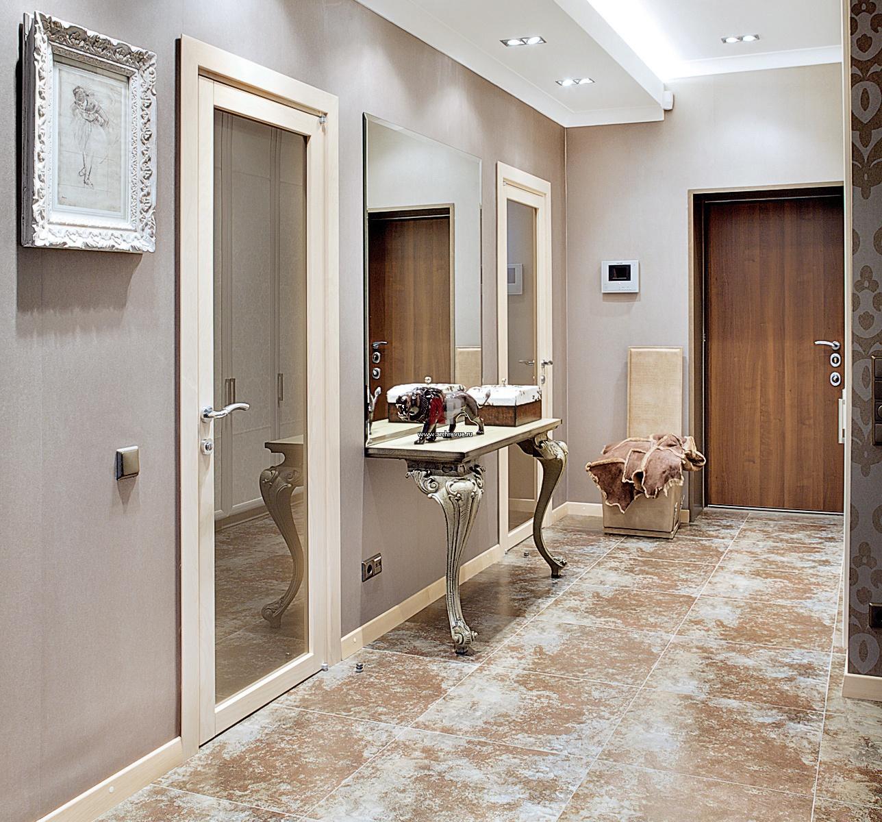 Дизайн интерьера узкого коридора в квартире, 14 идей