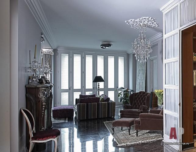 Светлый интерьер квартиры в белом цвете