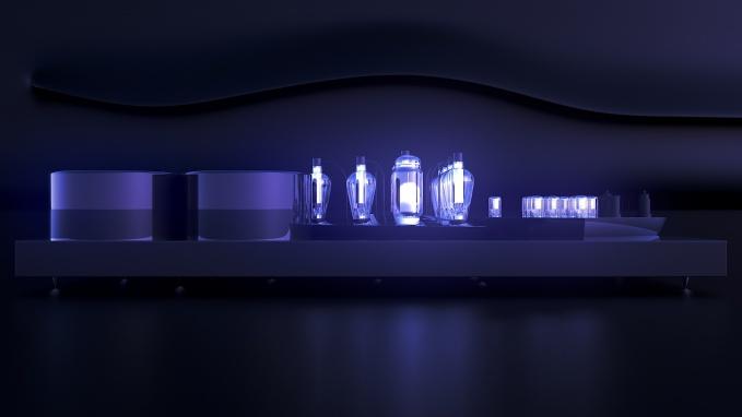 Однотактный ламповый интегральный стерео усилитель с выходным каскадом на легендарных прямонакальных триодах ГМ70.