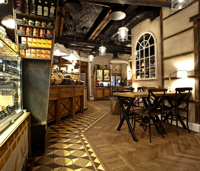 Дизайн французского кафе