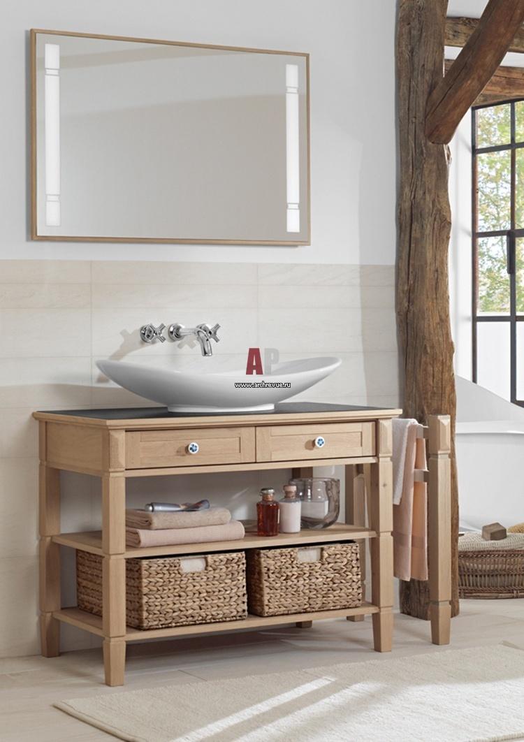 Деревянная тумба для ванной своими руками