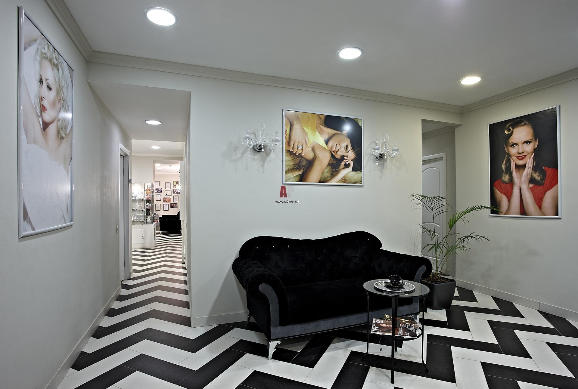 Дизайн интерьера салона красоты - YouTube