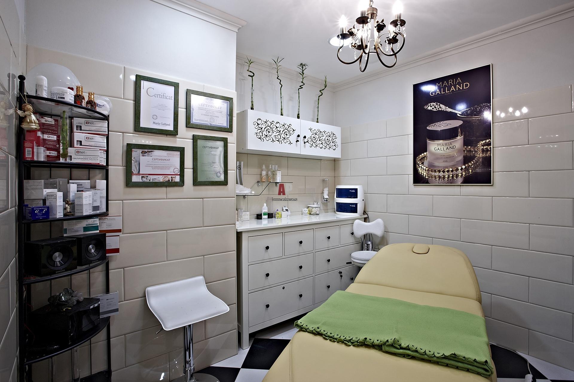 Косметологического кабинета в