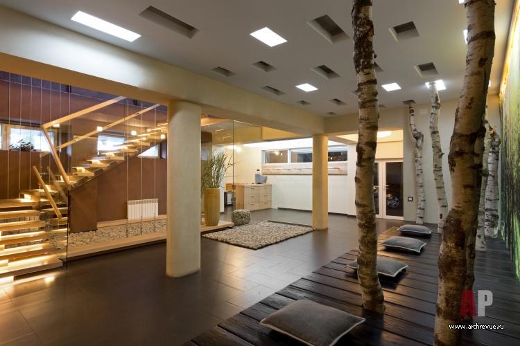Дизайн интерьера пятиэтажного дома в стиле экологический
