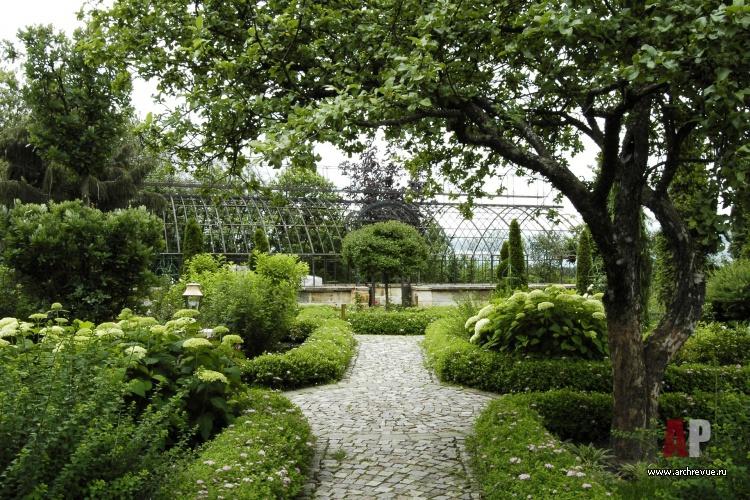 Французский сад ландшафтный дизайн