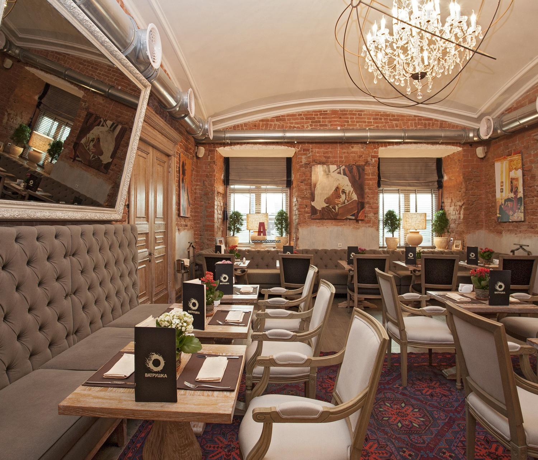 Интерьер ресторанов. фото