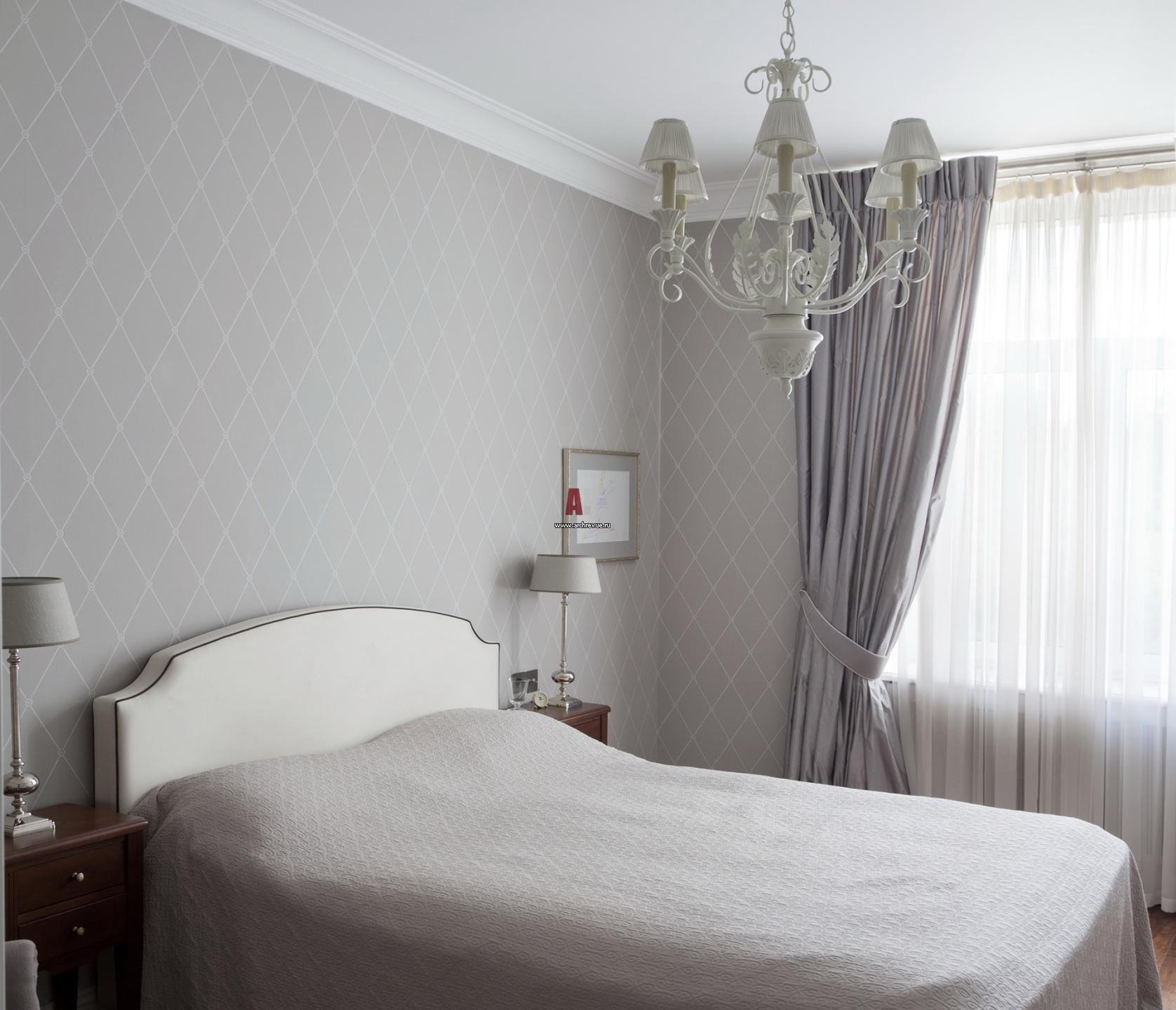 Серо белый интерьер гостиной