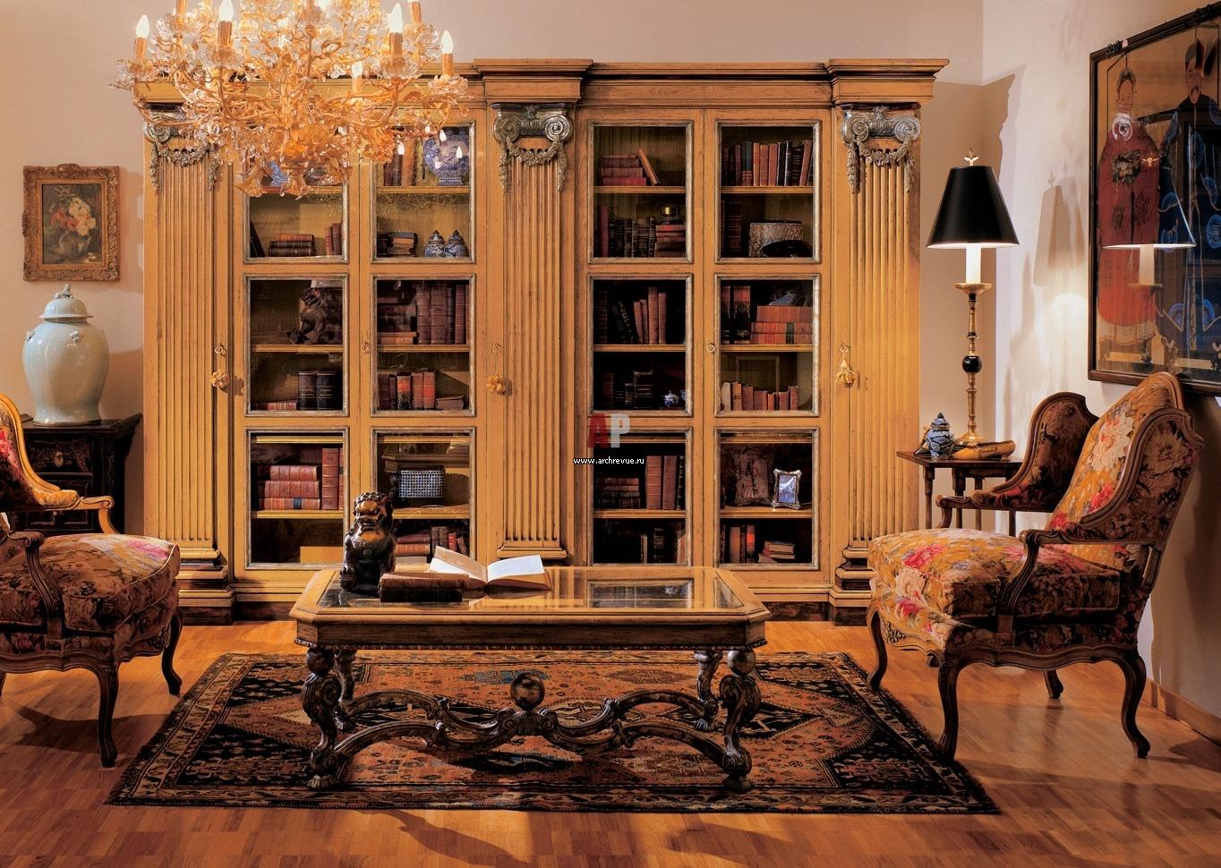 Книжный шкаф 0690/4v provasi - стеллажи - гостиная - купить .