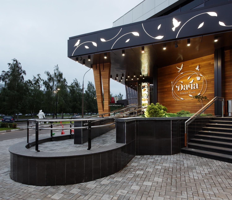 Фасады ресторанов и кафе фото