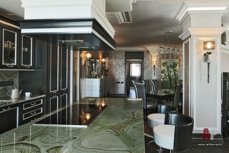 интерьер квартир с колоннами фото