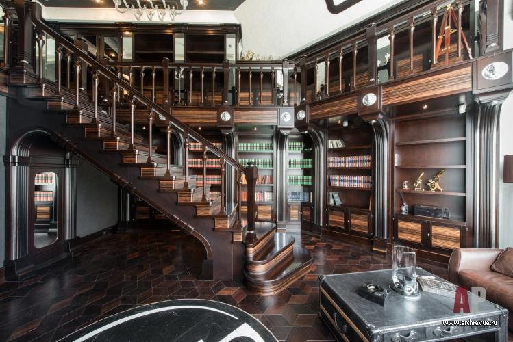 Дизайн второго этажа из дерева фото 417