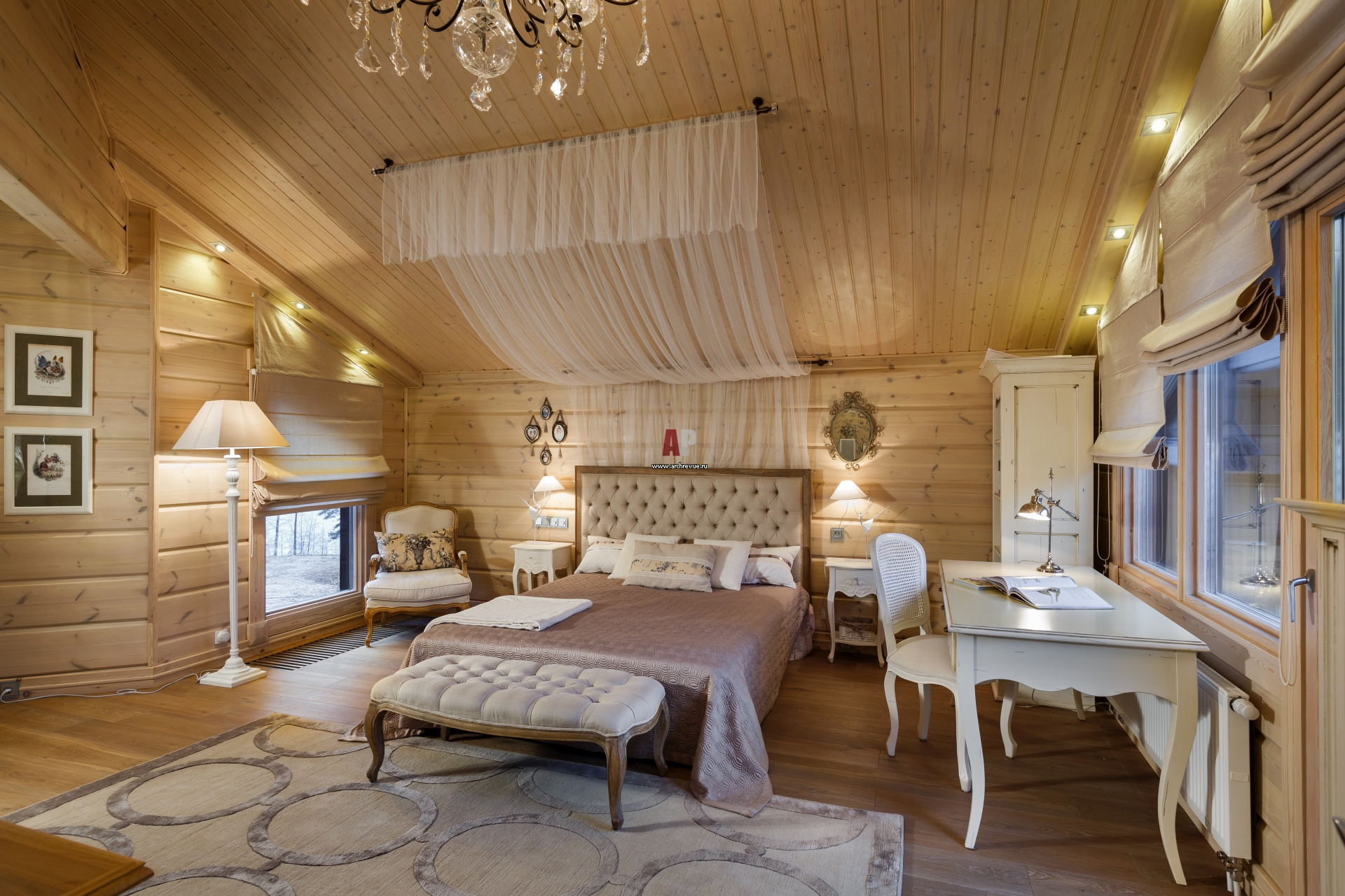 Спальни в доме дизайн фото