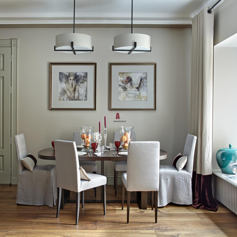 дизайн столовой небольшой фото цвета фуксии сами
