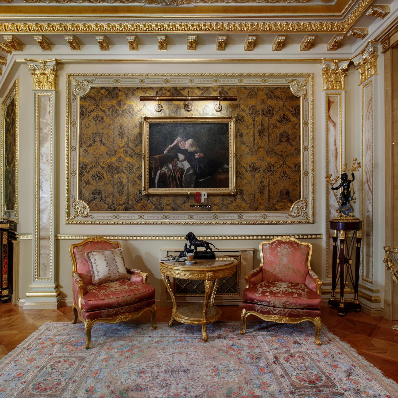 Как сделать ремонт в дворцовом стиле