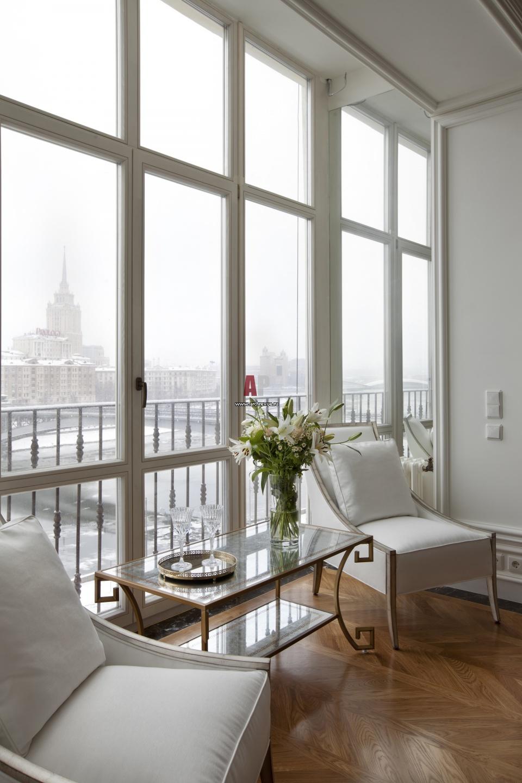 Исторический интерьер. дизайн квартиры на смоленской набереж.