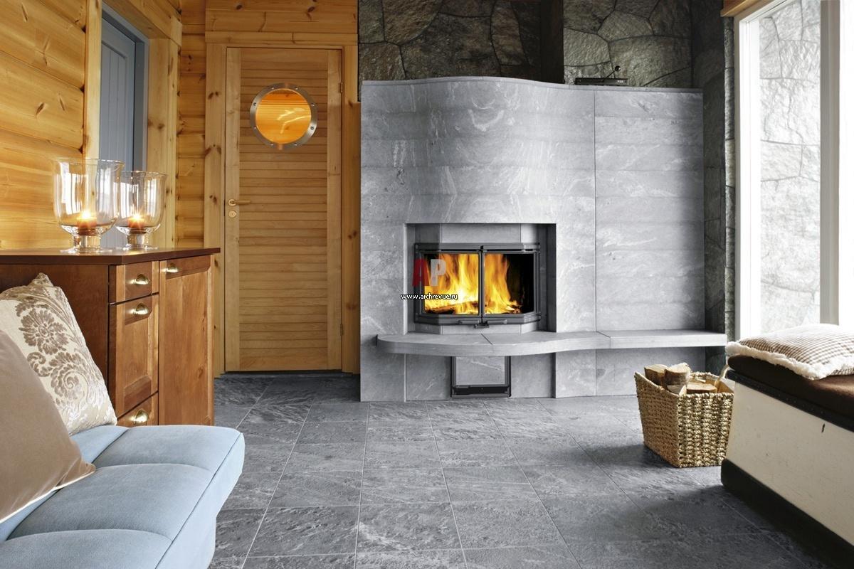 Финская печь и камин в одном своими руками