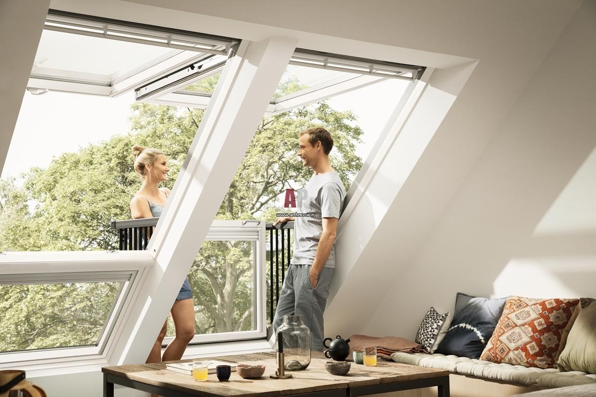 Мансардные окна: специфика выбора..