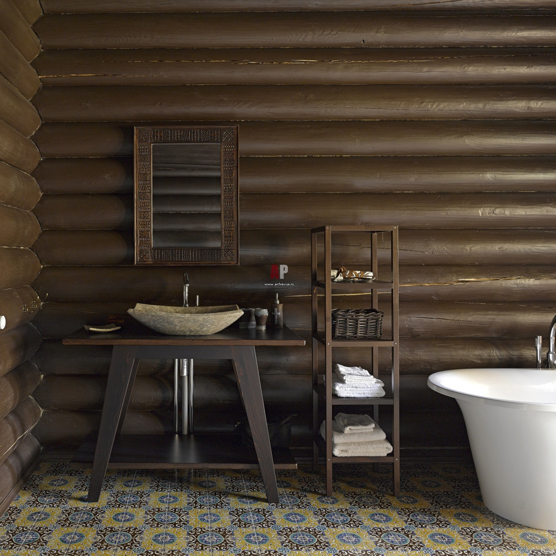 Badezimmer Rustikal