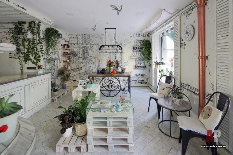 Цветы в интерьере кухни, спальни, гостиной