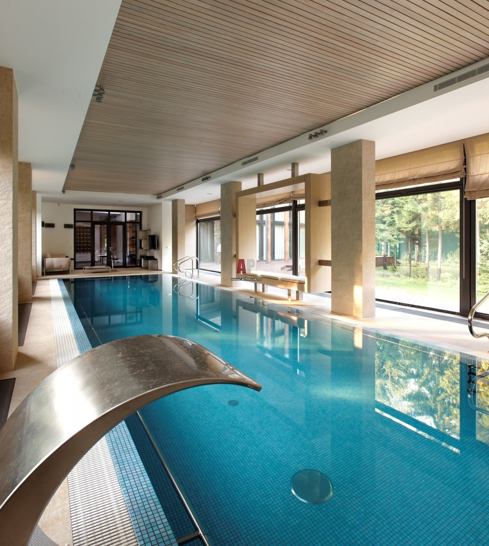 Дизайн бассейнов в частных домах