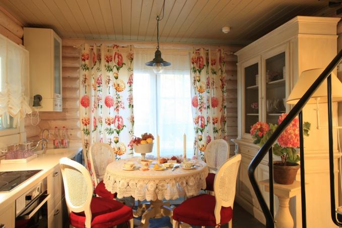 Стиль прованс в интерьере дачного дома своими руками