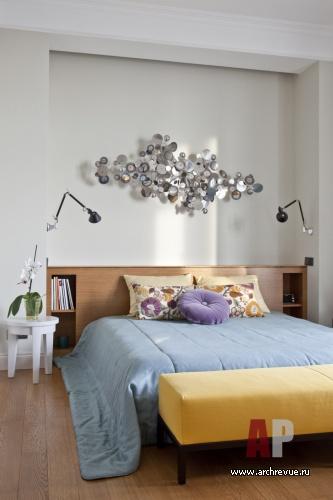 Современный интерьер мужской спальни
