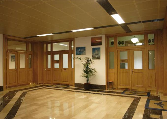 двери для общественных зданий входные