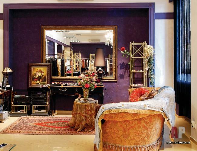 794deaaf67c1 Дизайн-проект интерьера магазина в стиле французской богемы