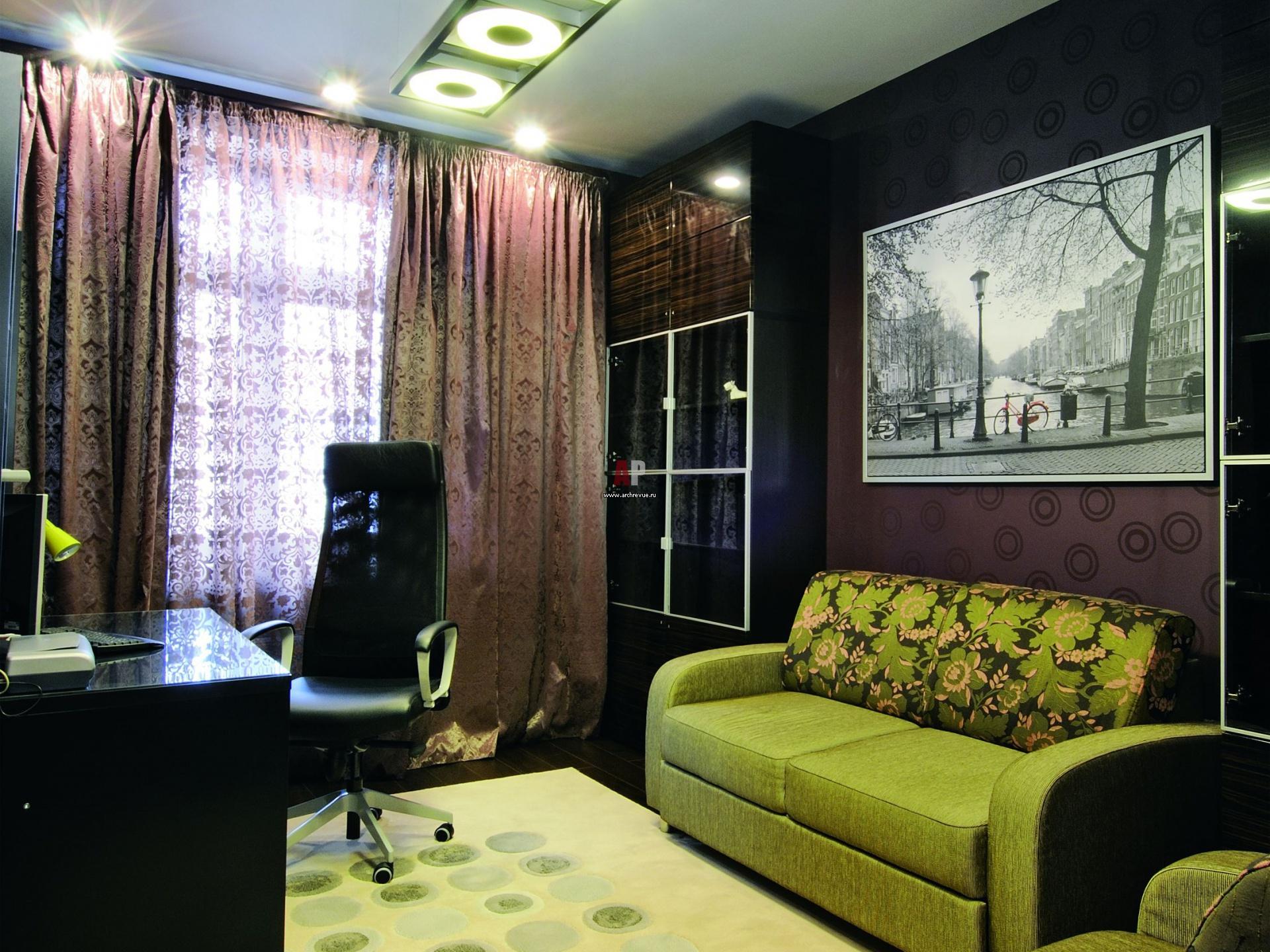 Комната кабинет фото