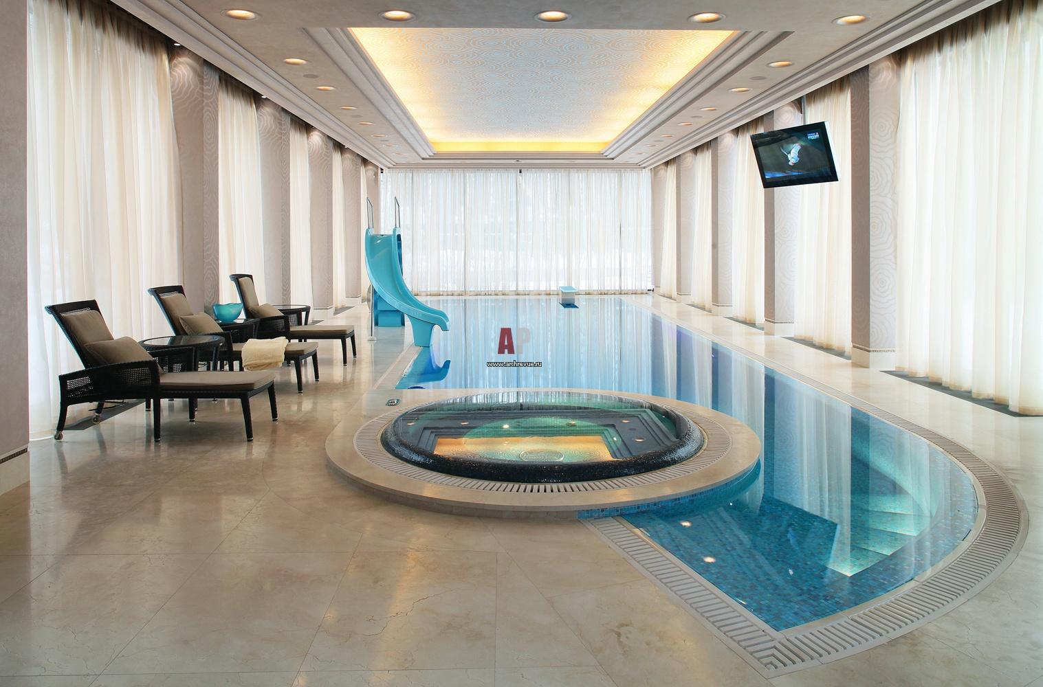 Дизайн проект бассейнов
