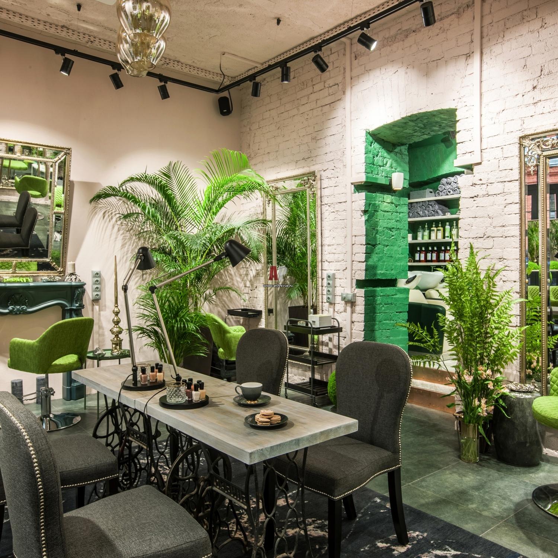 салоны красоты фото дизайн в зеленом цвете