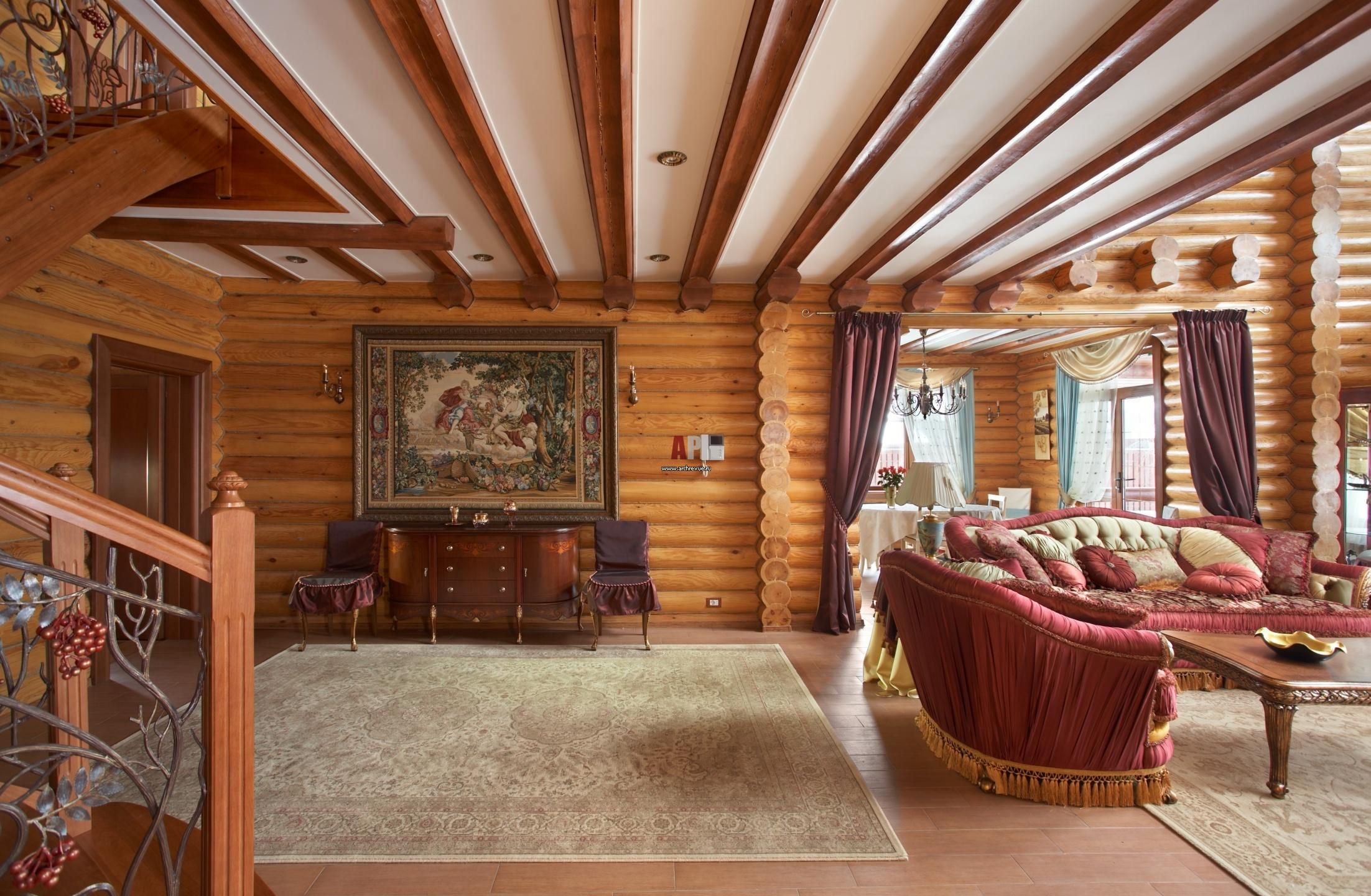 Дизайн красивых деревянных домов внутри фото
