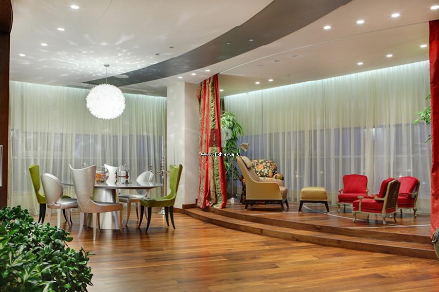 Дизайн гостиной фьюжн