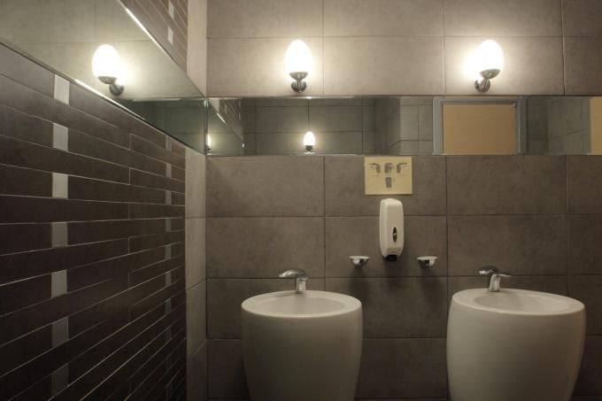 Дизайн общественных санузлов