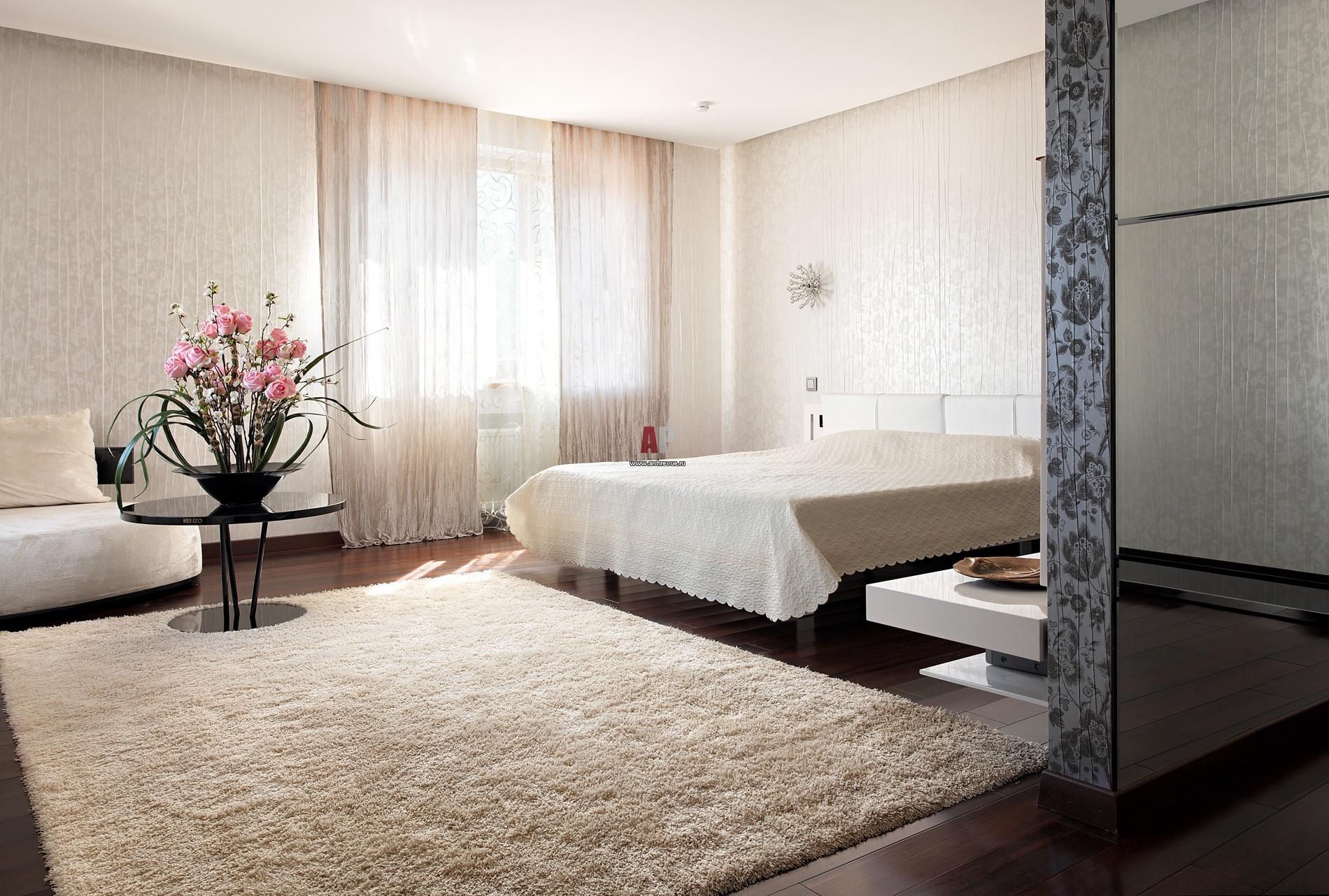 Черная спальня не только для смелых!  Дизайн спальни