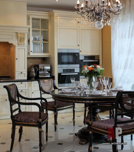 Облицовка кухни столовая зона камень фото.