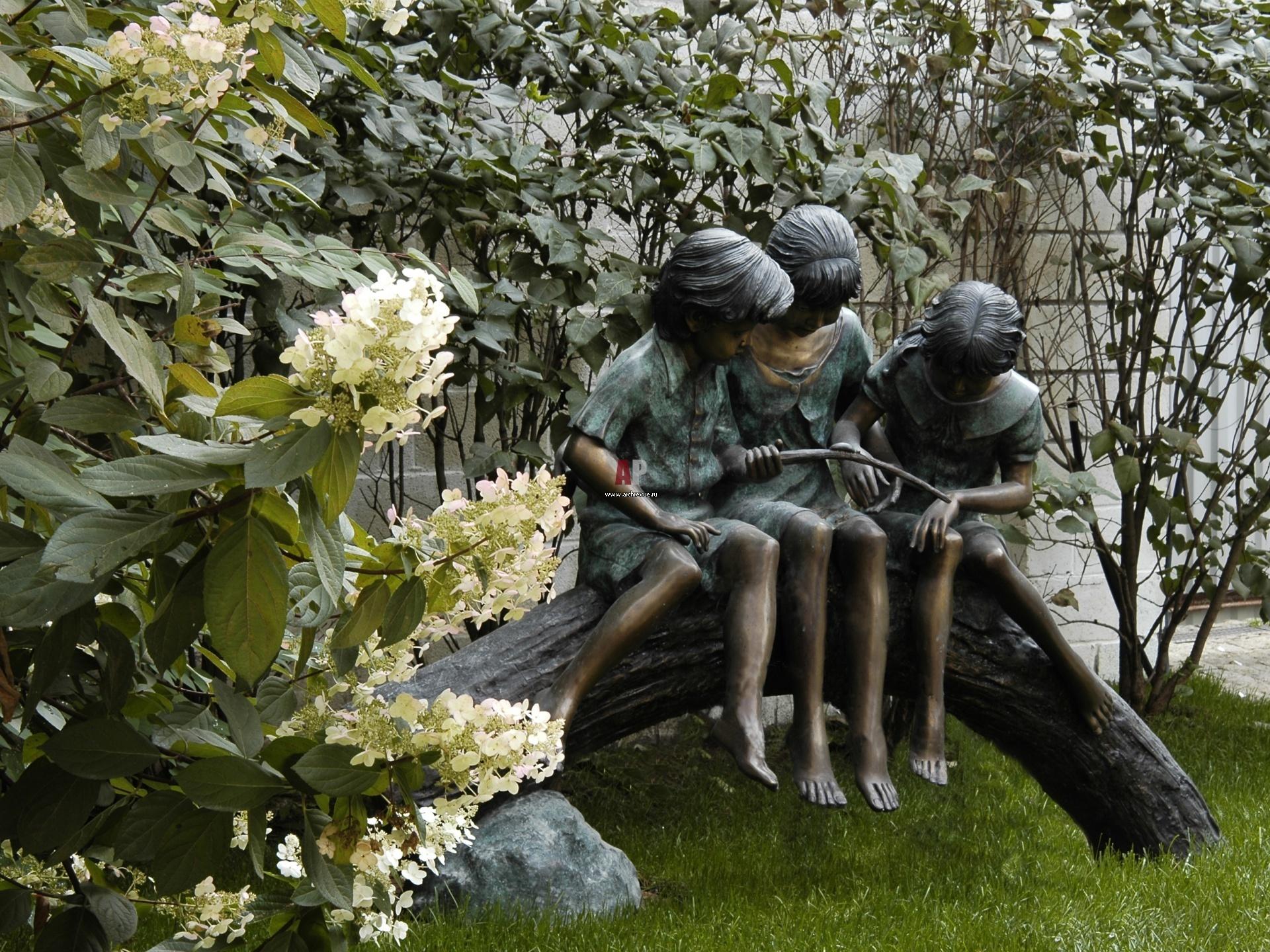 Скульптура в сад своими руками 39