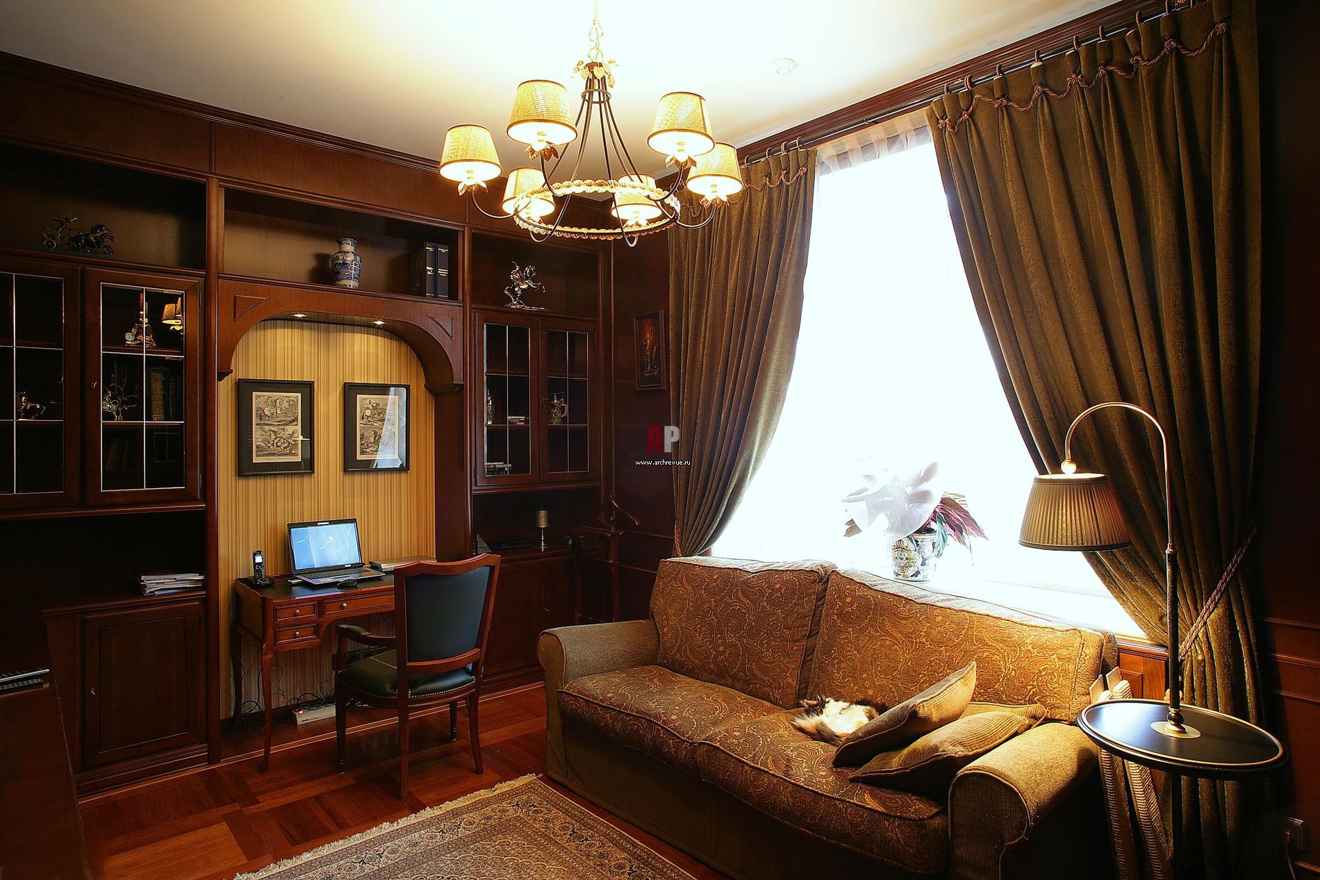 Кабинет в своем доме дизайн фото