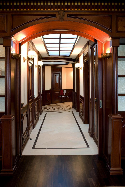 дизайн коридора квадратного в квартире фото реальные