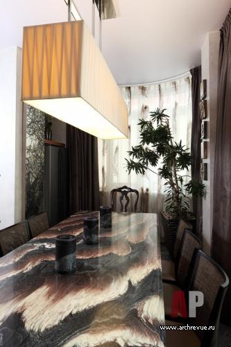 Фото интерьера столовой квартиры в восточном стиле 6107f91c1c34c