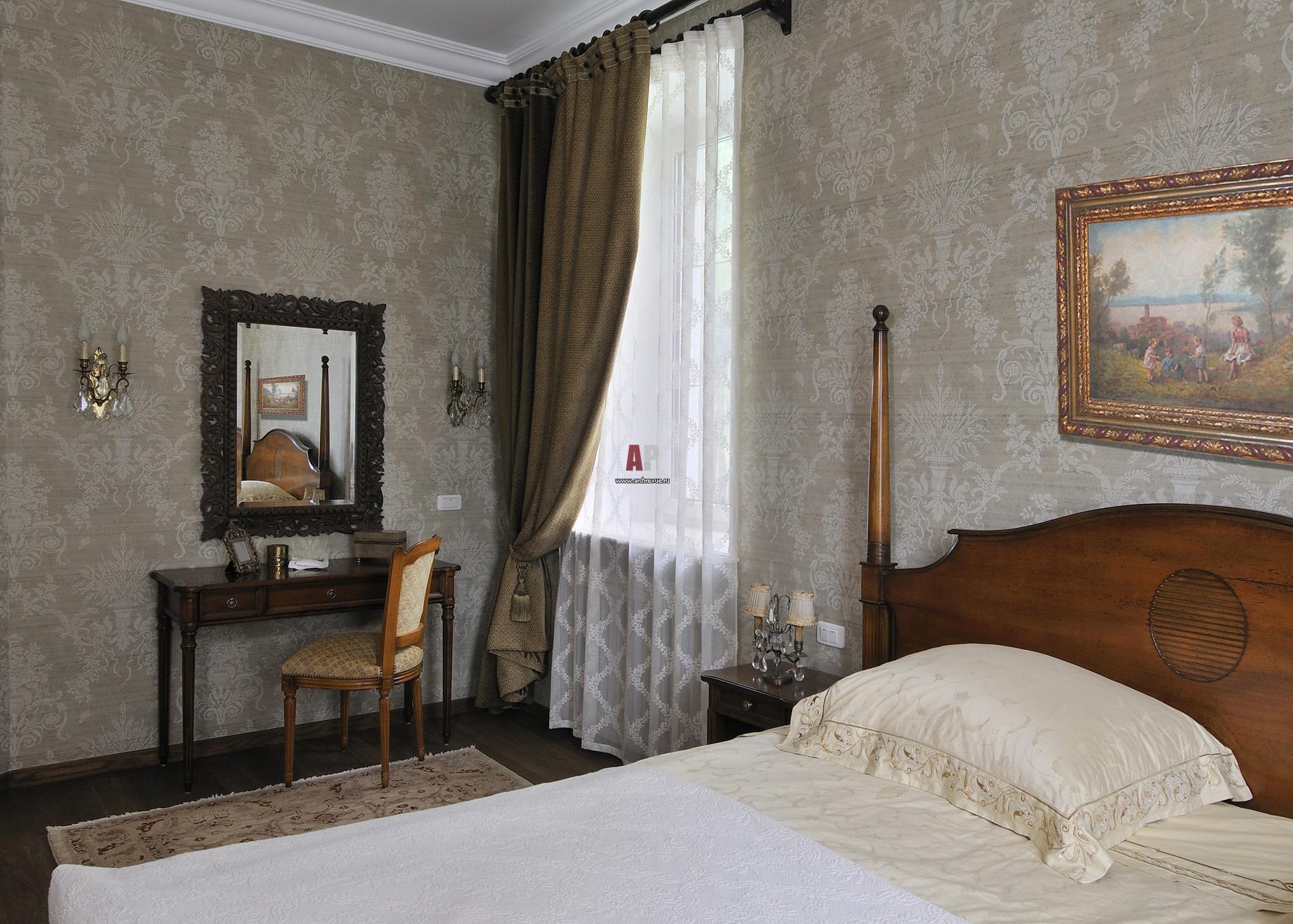 Интерьеры гостевых в стиле прованс