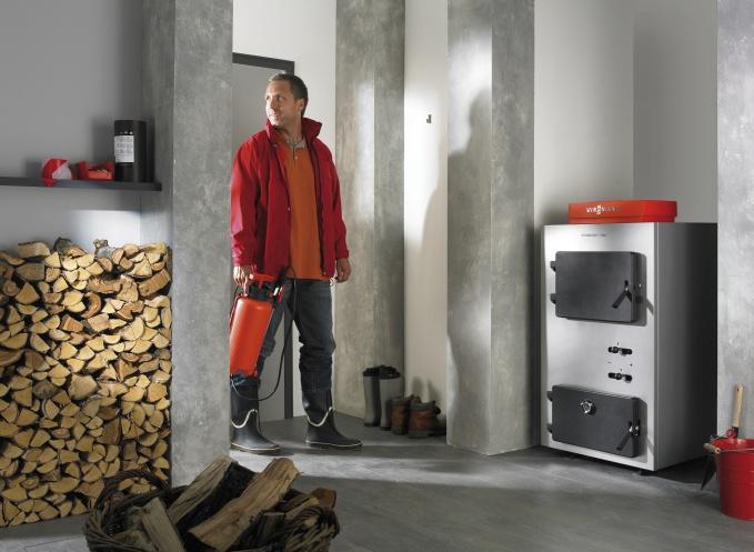 Отопление дровами и электричеством загородного дома